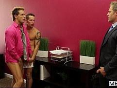 MEN The Gay Office Lunch Break