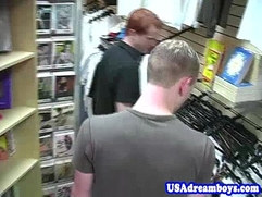 Gay yankee twinks fucking secretly in public
