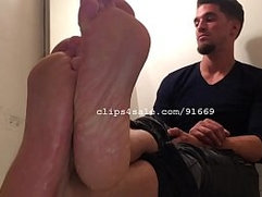 Foot Fetish - Samuel Feet Video 1