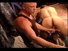 Derek Da Silva get balls bashed on anvil