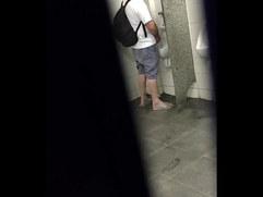 Flagra no Banheiro do Terminal em Curitiba Spy