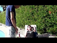 Amateur gay men Ryan Conners and Chase Young