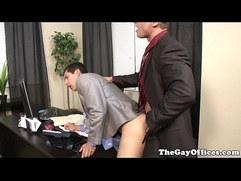 Tony Newports new boss fucks him