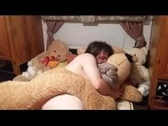 Fucking my teddy bear