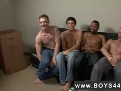 Interracial gay wrestling fuck big small Those trio words just