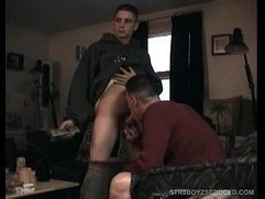 Vinnie Swallows Straight Boy Cory's Cum Load