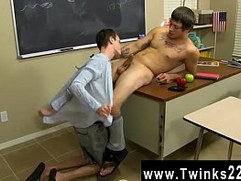 Emo twink cock vids Timo Garrett gives his teacher Julian Smiles a