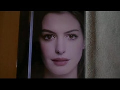 My huge cum tribute to Anne Hathaway