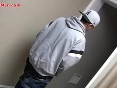 Latin thug receiving blow job