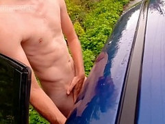 Parking wanking midday