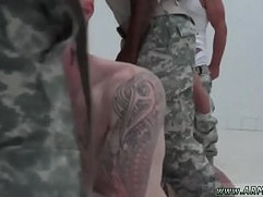Free gay military The Hazing, The Showering and The Fucking