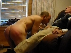 spanked and swallow