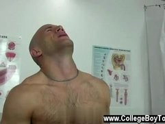 Amazing gay scene Coach Maddox used and d my mouth as he jammed and